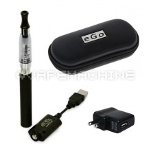 Black Vape Machine Starter Kit with Case