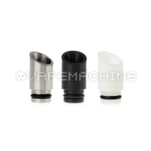 Black White Delrin Drip Tip Stainless Steel Drip Tip for 510 ViVi Nova DCT